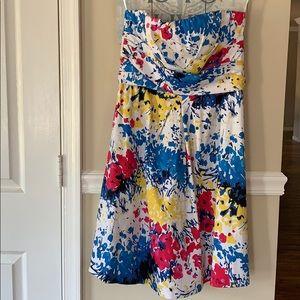 Donna Ricco Strapless Dress Sz 6